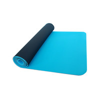 Thinksport Yoga Mat - Black/Blue Ice