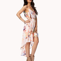 Abstract Print High-Low Dress | FOREVER 21 - 2053866407