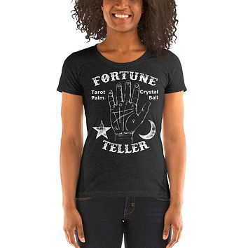 Fortune Teller Ladies' short sleeve t-shirt