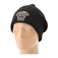 Versace Count Your Blessings Ribbed Medusa Hat