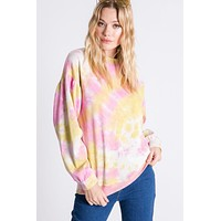 Aaron and Amber Tie Dye Sweatshirt
