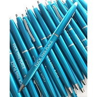 Fuck This Place Pen Set in Turquoise