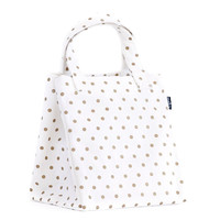 Metallic Gold Dots Lunch Tote