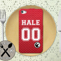 Teen Wolf Inspired Derek Hale Lacrosse Jersey Beacon Hills Rubber Tough Phone Case For The iPhone 4 and 4s and iPhone 5 and 5s and 5c