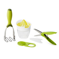 Guacamole Utensil Kit | juicer, herb shears, avocado tool, potato masher