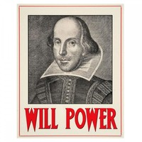 Will Power Metal Wall Sign HH242