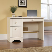 Harbor View 3 Drawer Computer Desk with Keyboard Tray