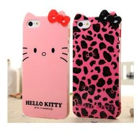 Leopard With Hello Kitty Case for iPhone 5