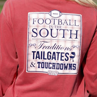 Football In The South Tee - Jadelynn Brooke