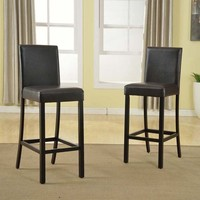 SAVE Baxton Studio Torino Modern Barstools - Set of 4