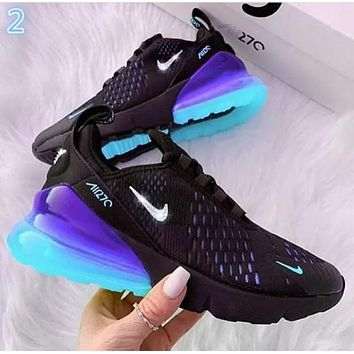 NIKE AIR MAX 270 Breathable Running Sneakers Sport Shoes