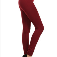 High-Waisted Fleece Lined Leggings