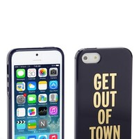 kate spade new york 'get out of town' iPhone 5 & 5S case   Nordstrom