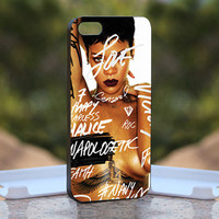 nude rihanna - Design available for iPhone 4 / 4S and iPhone 5 Case - black, white and clear cases