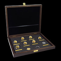 2016-2020 Great Britain 8-Coin 1/4 oz Gold Queen's Beasts Set