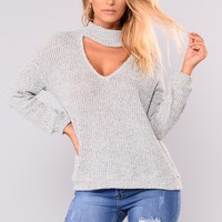Only Love Sweater - Heather Grey