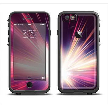The Pink Rays of Light Apple iPhone 6 LifeProof Fre Case Skin Set