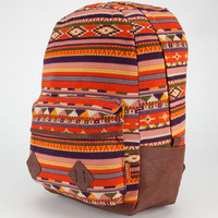Carrot Company Ethnic Print Backpack Pink One Size For Women 23781935001