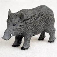 RAZORBACK HOG TINY ONE FIGURINE