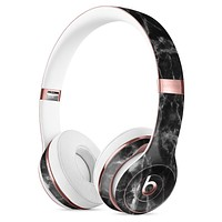Smooth Black Marble Full-Body Skin Kit for the Beats by Dre Solo 3 Wireless Headphones