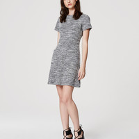 Tweed Pocket Dress | LOFT