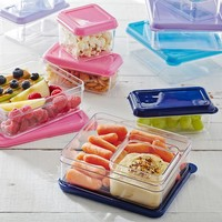 C-Thru Lunch Containers, Set of 3