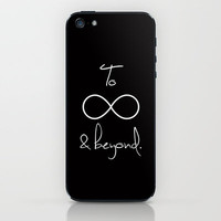To Infinity and Beyond iPhone & iPod Skin by RexLambo   Society6