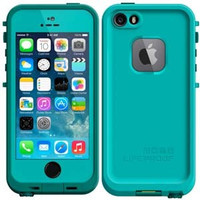 LifeProof Apple iPhone 5 / 5S Waterproof Case - Dark Teal / Teal