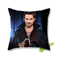 Captain Hook Once Upon a Time Square Pillow Cover