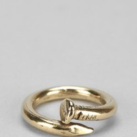 Union Bent Nail Ring - Urban Outfitters