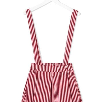 Madson Discount Kids Striped Dungaree Skirt - Farfetch