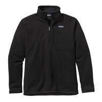PATAGONIA MEN'S BETTER SWEATER 1/4 ZIP JACKET