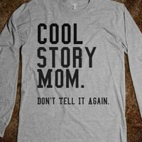 Cool Story Mom - Curly Hair Just Dont Care