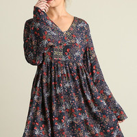 Woodland Wonder Dress - Navy