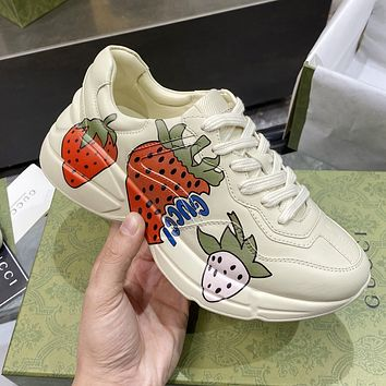 GG G High Quality Women's Sneakers Shoes
