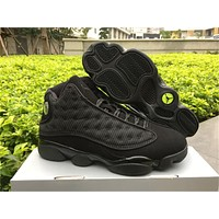 Air Jordan 13 Black Cat 3M Basketball Shoes 36-47