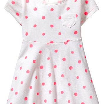 Old Navy Patterned Jersey Dresses For Baby