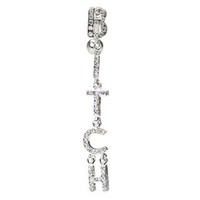 Bitch Belly Button Ring - Reverse Dangle