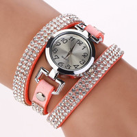 NEW Fashion Women Bracelet Wrist Watch