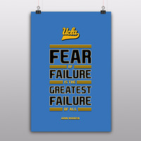 Fear Quote by John Wooden