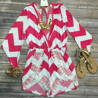 Be Still My Heart Romper
