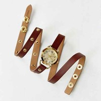 Double Strap Watch - Brown One