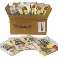 Country Harvest Healthy Choice Popcorn Portion-Pack for 4-Ounce Poppers (Regular Case, 24-Count)