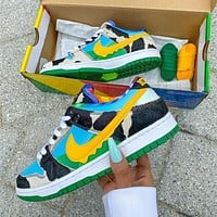 "Ben & Jerry's x Nike SB Dunk Low ""Chunky Dunky"""