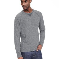 Banana Republic Mens Vintage Washed Pocket Crew