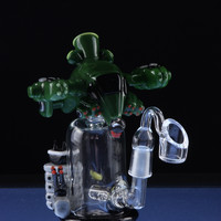 "Empire Glassworks ""Gun Ship"" Tiered Rig"
