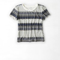 AEO Baby T-Shirt, Coral Burst | American Eagle Outfitters