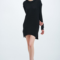 Suit Icon Knit Dress in Black - Urban Outfitters
