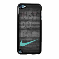 Nike Mint Just Do It Wooden Gray iPod Touch 5th Generation Case