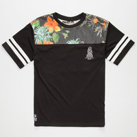 Neff Team Vapay Boys Jersey Black  In Sizes